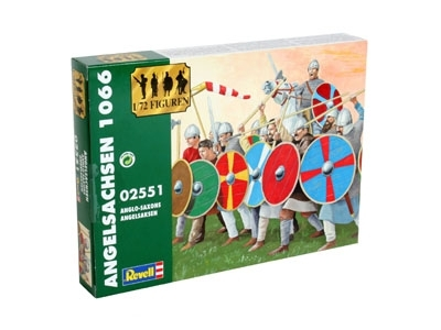 Figurky Anglo-Saxons stavebnice 1:72 Revell 02551