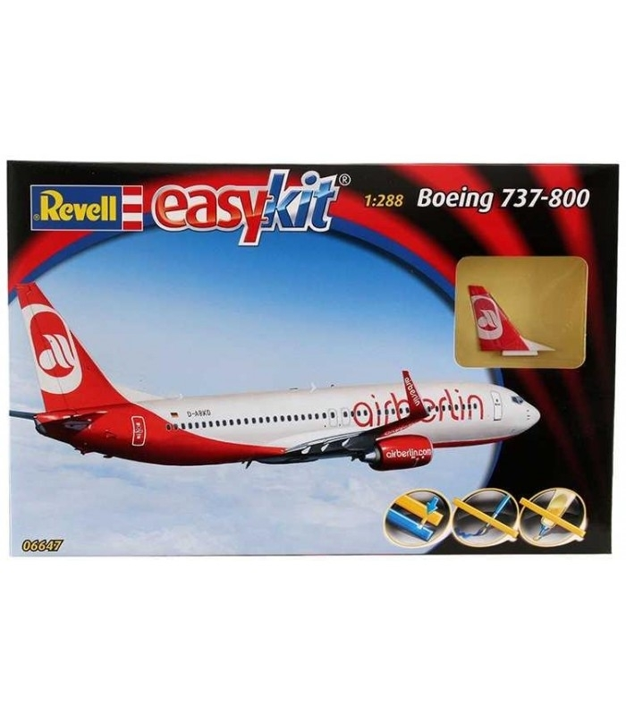 Letadlo Boeing 737-800 Air Berlin 1:100 Easy Kit Revell 06647