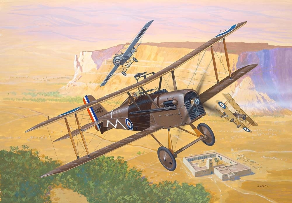 Royal Aircraft Factory SE 5A 1:72 Revell 04061