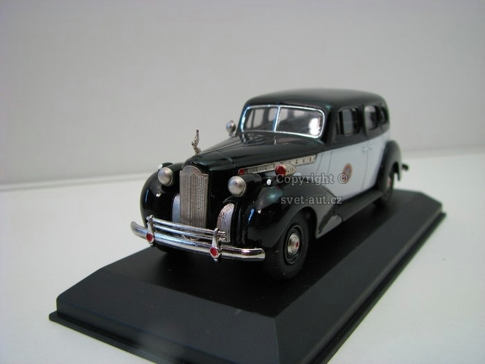 Packard Super 8 1940 Berline California Highway Patrol 1:43 Rext