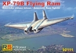 Northrop XP-79B Flying Ram 1:72 Stavebnice RS models