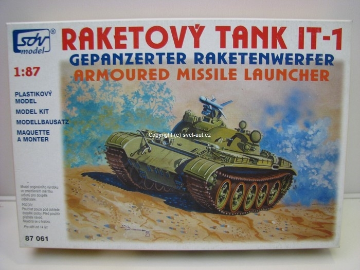 Raketový tank IT-1 1:87 SDV