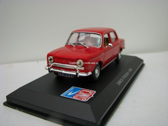 Simca 1118 USA 1969 1:43 Atlas