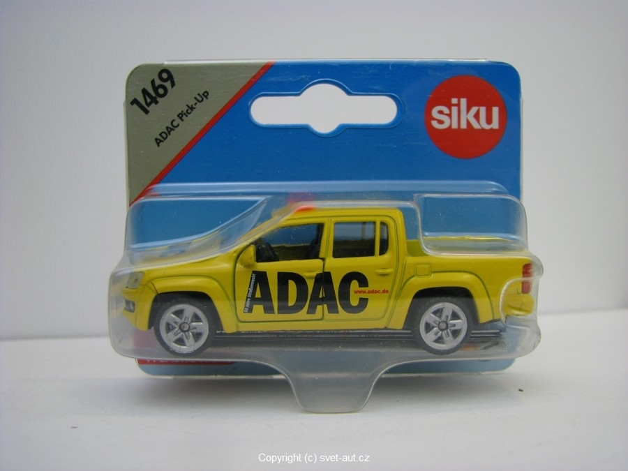 Volkswagen Amarok Pick Up Adac Siku Blister 1469