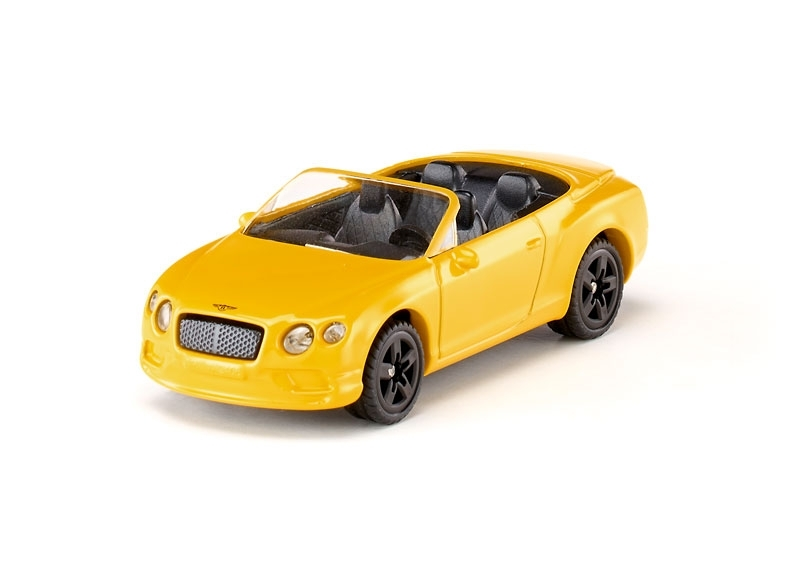 Bentley Continental GT V8 S Convertible Yellow Siku blister 1507