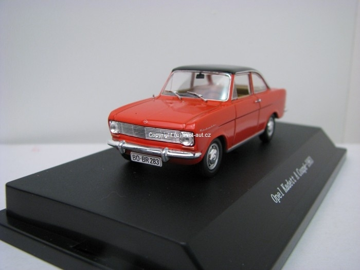 Opel Kadett A Coupé 1963 red Monza 1:43 Starline Models