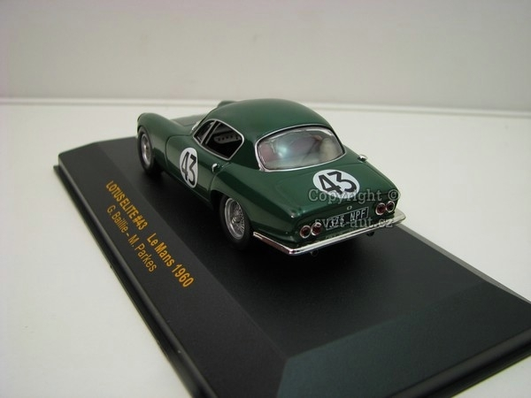 Lotus Elite No.43 Le Mans 1960 1:43 Ixo