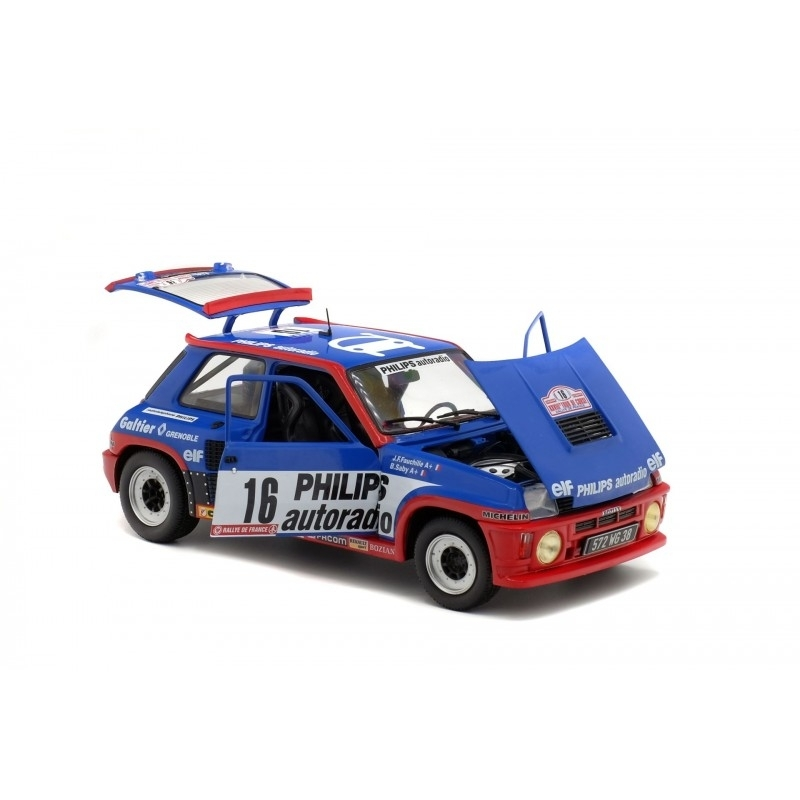 Renault R5 Turbo Gruppe B TDC 1984 No.16 Saby 1:18 Solido