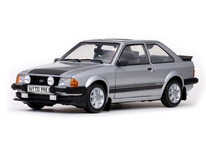 Ford Escort RS 1600i 1984 Silver 1:18 Sunstar