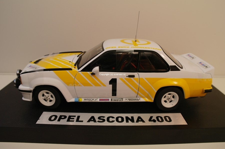 Opel Ascona 400 No.1 1:18 Sunstar