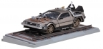 "DE LOREAN ""Back to the Future"" Part III Railroad version 1:18 Sunstar"
