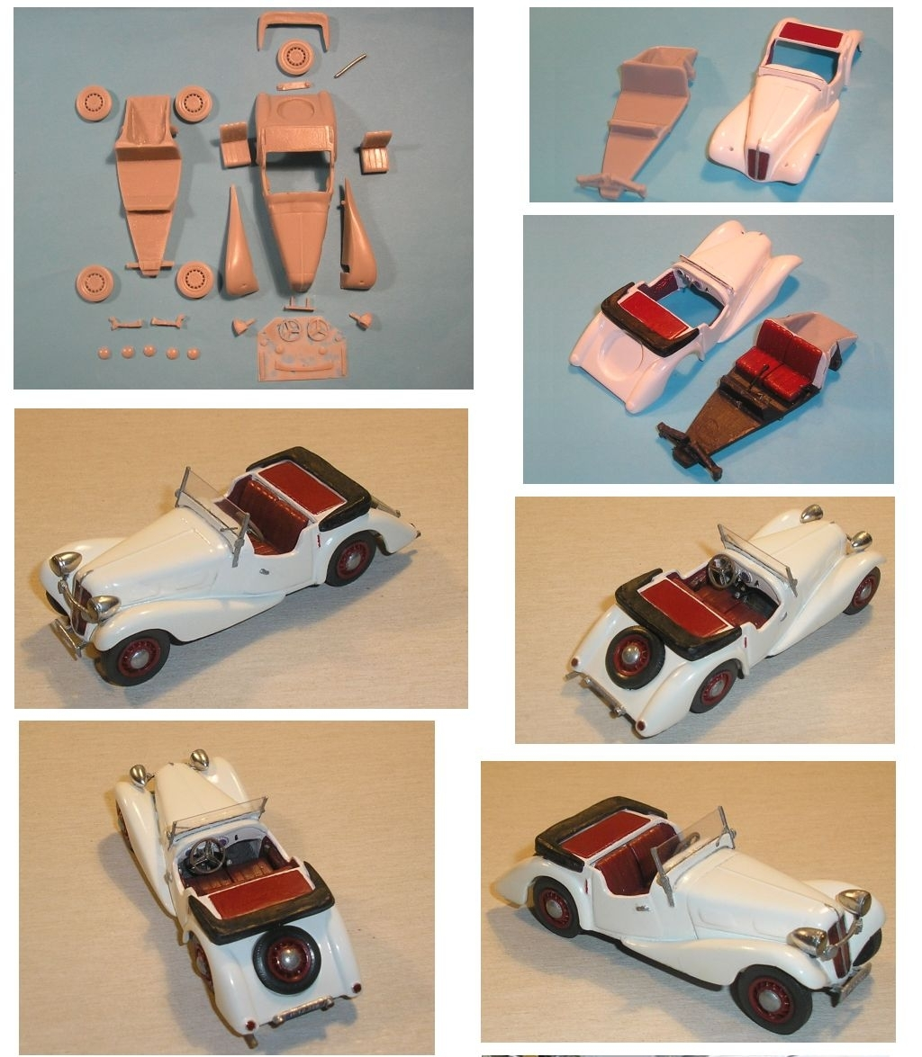 Aero 30 Roadster 1936 1:43 Kit Resin TP