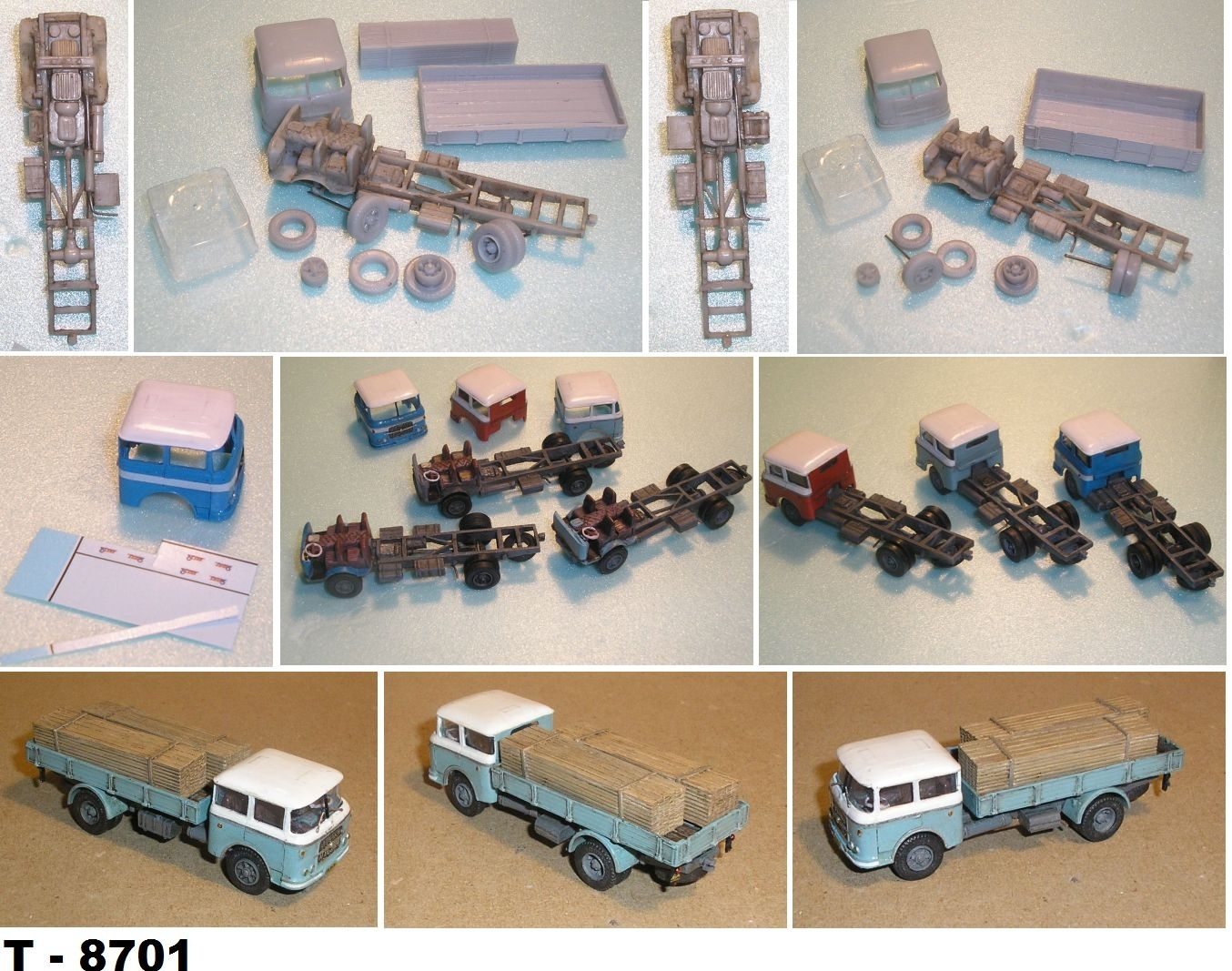 Škoda 706 RT valník 1957-1970 1:87 Resin Kit TP