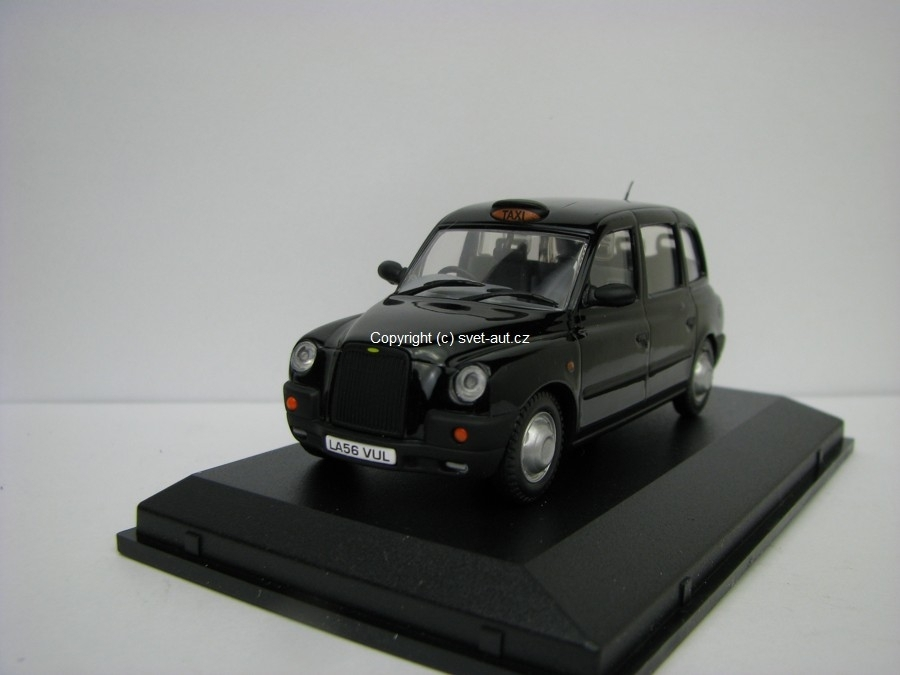 Austin TX4 Taxi black 1:43 Oxford