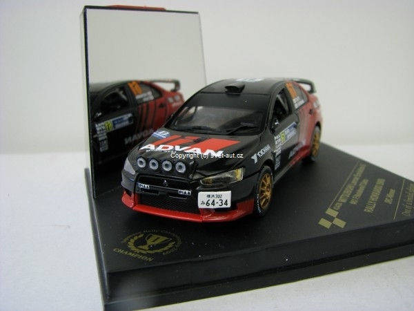 Mitsubishi Lancer Evolution X No.61 Nutahara Rally Hokaido 2009 1:43 Vitesse