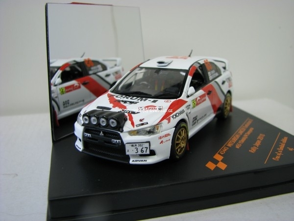Mitsubishi Lancer Evolution X No.65 Onishi Rally Japan 2010 1:43 Vitesse