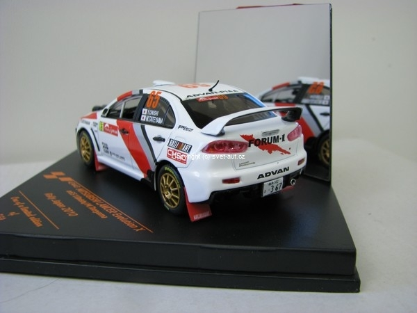 Mitsubishi Lancer Evolution X No.65 Onishi Rally Japan 2010 1:43