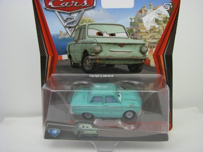 Petrov Trunkov Disney Pixar Cars