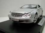 Mercedes-Benz SL-500 Hard Top Silver 1:18 Welly