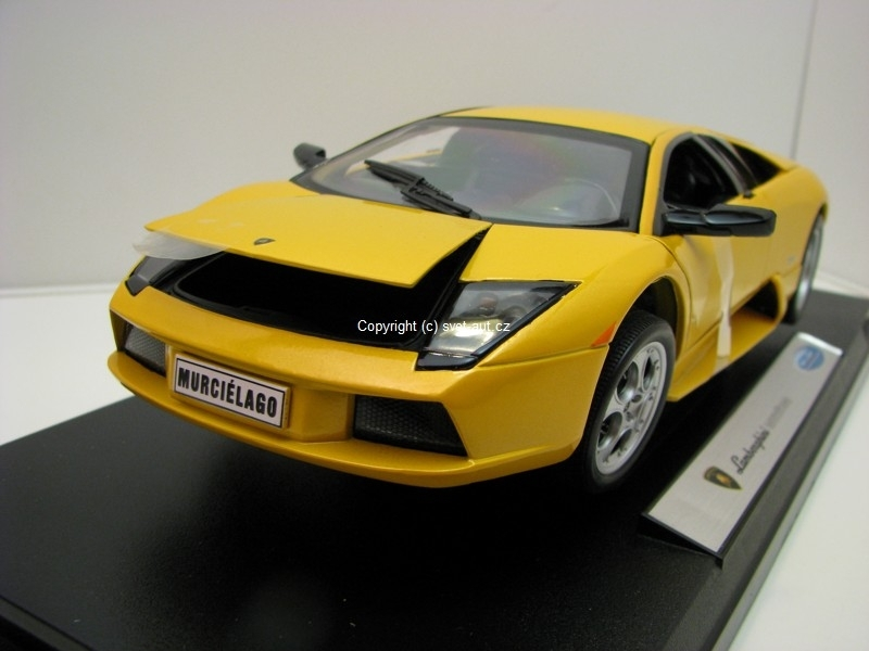 Lamborghini Murcielago Yellow 1:18 Welly