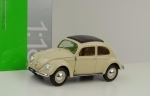 Volkswagen Classic Beetle 1950 Créme 1:18 Welly