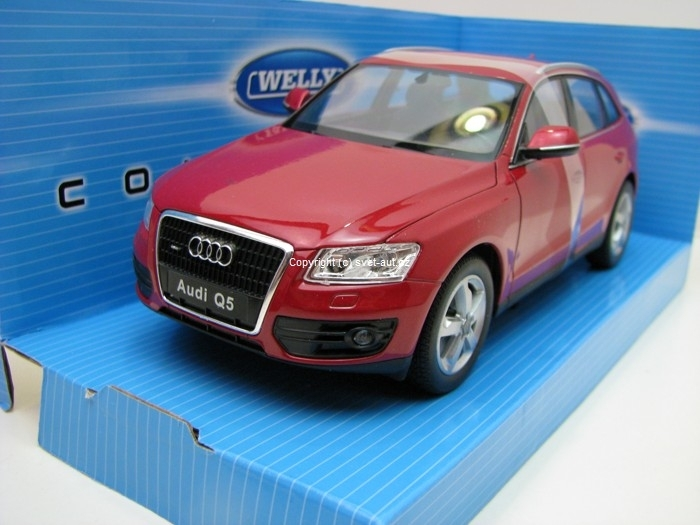 Audi Q5 Red Brown 1:24 Welly