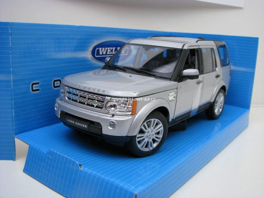 Land Rover Discovery 4 Silver 1:24 Welly
