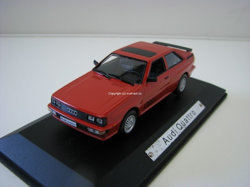 Audi Quattro red 1:43 Atlas