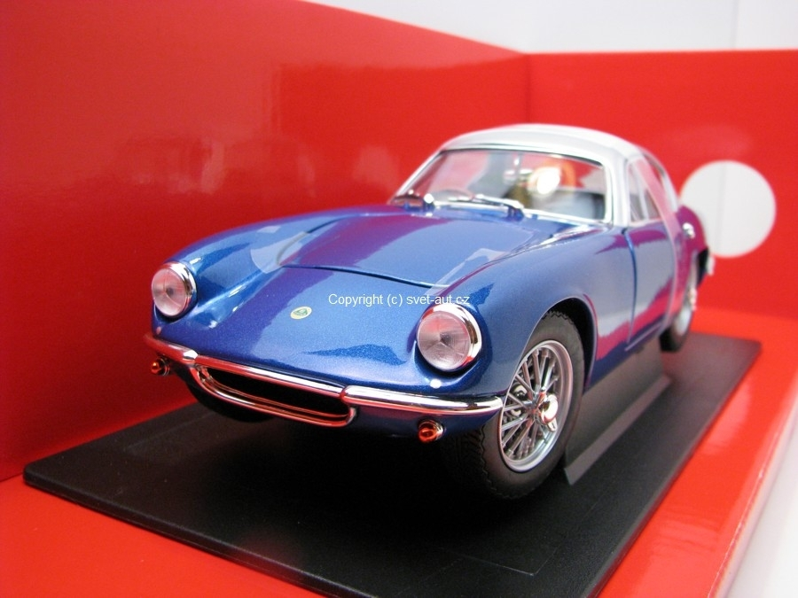 Lotus Elite 1960 Blue 1:18 Yatming