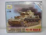 Tank PZ-IV Ausf.D German medium tank 1:100 Zvezda 6151