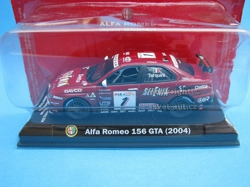 Alfa Romeo 156 GTA No.1 2004 1:43 Atlas