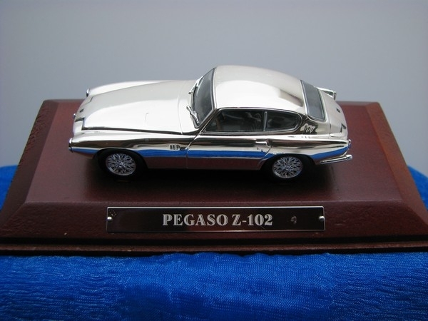 Pegaso Z-102 Chrom 1:43 Atlas