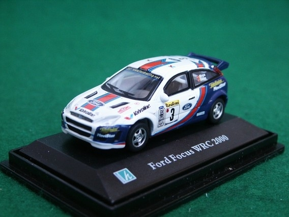 Ford Focus WRC 2000 Rally MC No.3 Moya 1:72 Cararama