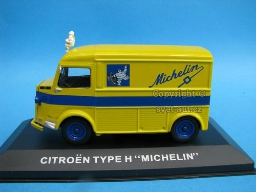 Citroen Type H Michelin 1:43 Atlas