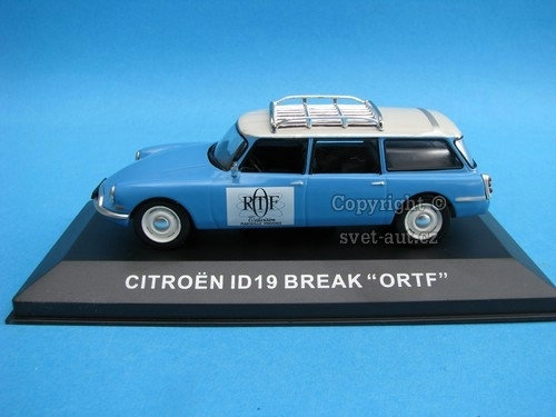 Citroen ID19 Break ORTF 1:43 Ixo Altaya