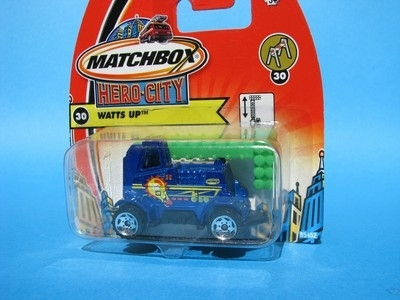Watts Up 1:64 Matchbox