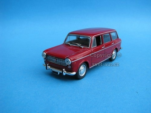 Fiat 1100 R Familiare 1966 purple 1:43 Starline