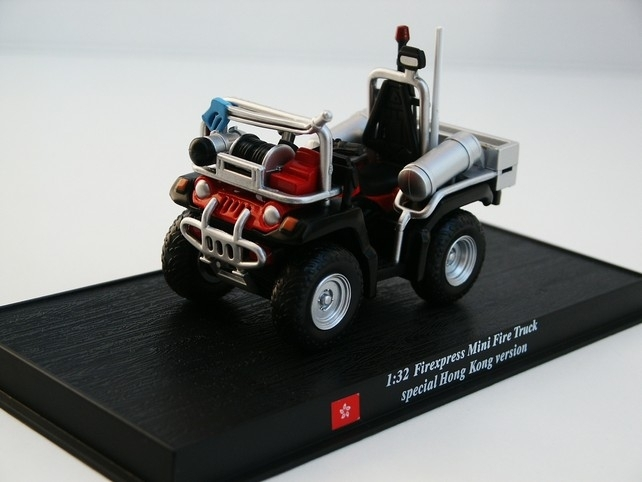 Mini Fire truck Firexpress 1:32 del Prado