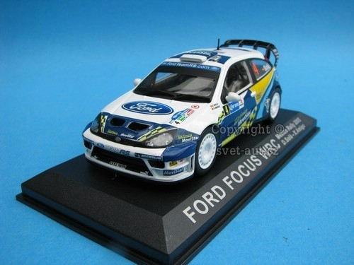 Ford Focus WRC Rally Mexico 2005 1:43 del Prado