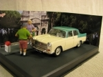 Austin Cambridge whitegreen 1:43 Diorama Ixo Altaya