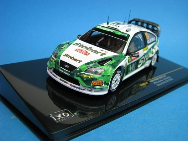 Ford Focus WRC No.10 Wales Rally GB 2006 1:43 IXO