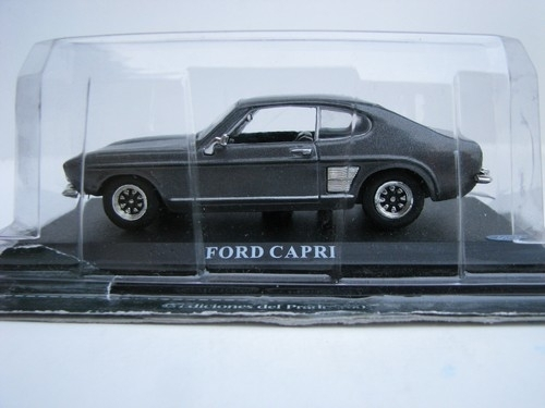 Ford Capri grey metal 1:43 Del Prado