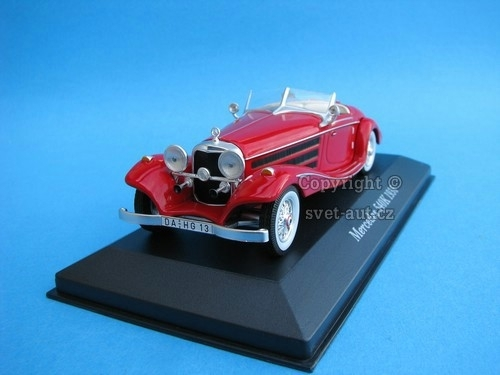 Mercedes 540K 1936 red 1:43 Ixo Altaya