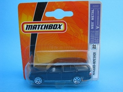 Mercedes-Benz E430 Black 1:62 Matchbox