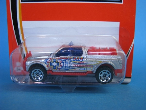 Emergency Response 4x4 Matchbox HC Blister