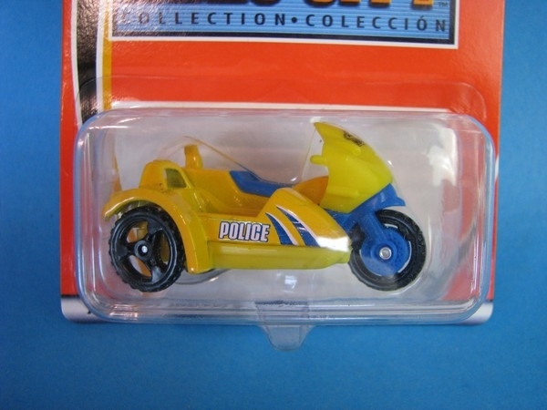 Police Motorcykle With Sidecar Matchbox HC Blister