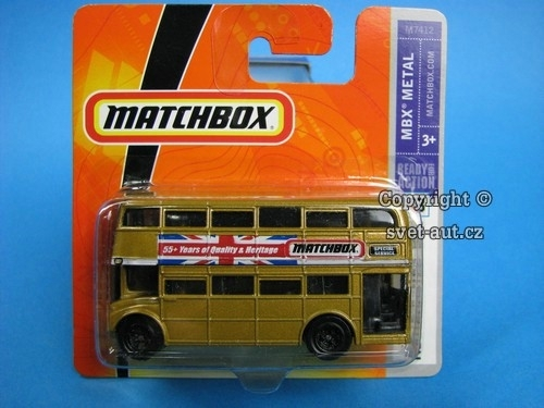 Routemaster Bus Double Decker Matchbox