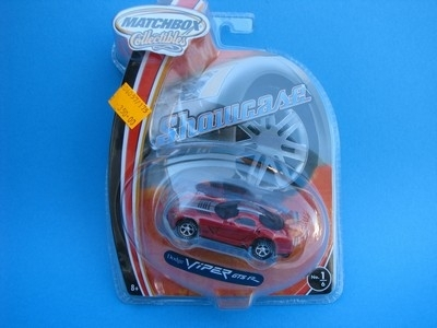 Dodge Viper GTS R Matchbox Collectibles Showkase