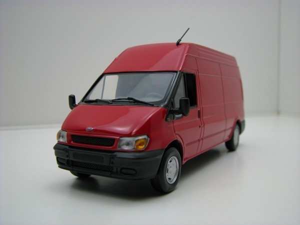 Ford Transit Van red 1:43 Minichamps