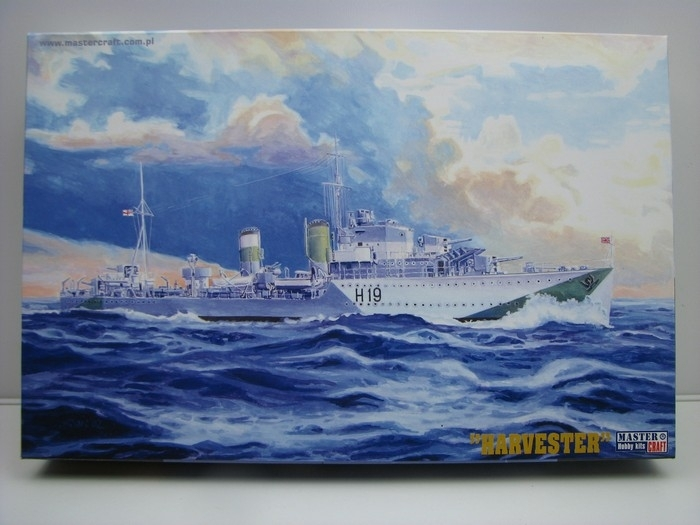 Stavebnice lodi HMS Harvester 1:500 Craft
